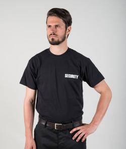 DaVinci Herren T-Shirt Premium SECURITY inkl. Brust- & Rückendruck