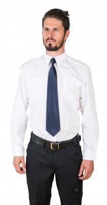DaVinci Pilot- / Diensthemd, kurzarm / langarm, weiß
