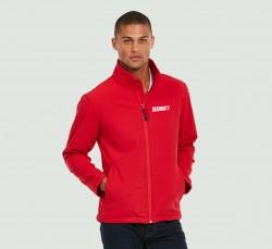 DaVinci Security Softshell Jacke incl. Aufdruck Security, marineblau oder rot oder schwarz