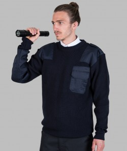 Mil-Tec Unisex BW Pullover SECURITY