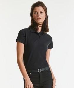 Russell Damen Poloshirt Classic COTTON Piqué