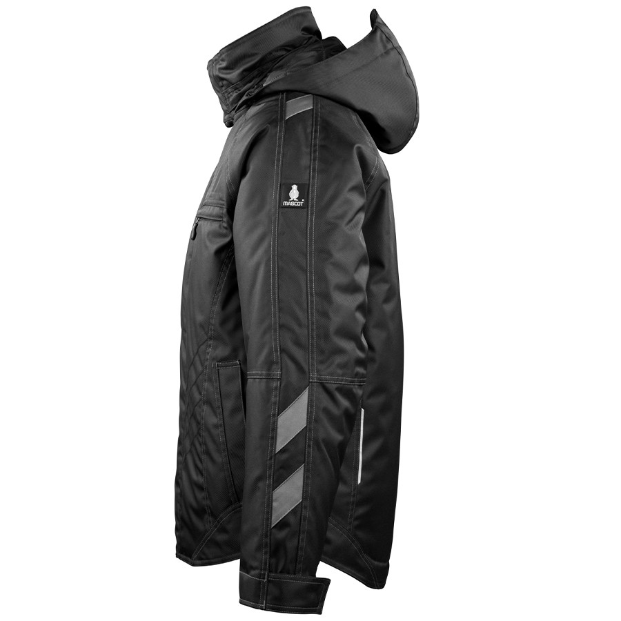 MASCOT® UNIQUE Frankfurt Winterjacke einfarbig mit gestepptem Fleecefutter
