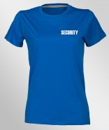 DaVinci Damen T-Shirt Premium SECURITY inkl. Brust- & Rückendruck