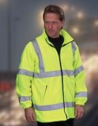 DaVinci Fleece-Jacke Hight Visibility, gelb oder orange