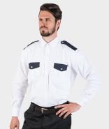 DaVinci Herren-Uniformhemd US-Style, kurzarm / langarm