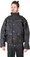 DaVinci Security 2-in-1 Blouson Exclusive, schwarz-silber