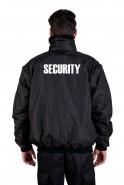 DaVinci Security-Jacke Multifunktional incl. Aufdruck SECURITY, schwarz