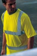 DaVinci Warnschutz T-Shirt High Visibility, gelb
