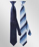 Exner Herren-Krawatte mit/ohne Clip