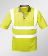 Feldtmann Warnschutz Polo-Shirt SAFESTYLE