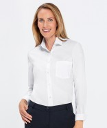 GREIFF Damen-Bluse BASIC Comfort Fit, langarm