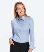 GREIFF Damen-Bluse BASIC Regular Fit, langarm