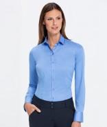 GREIFF Damen-Bluse PREMIUM Slim Fit, langarm