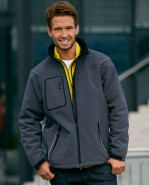 James & Nicholson Winter-Softshell-Jacke Security, in vielen Farben