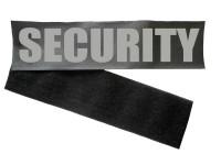 Klettband Brustschild inkl. Flauschband und Aufdruck