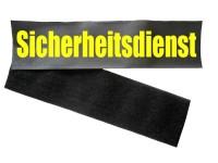 Klettband Rückenschild inkl. Flauschband und Aufdruck