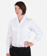 OLYMP Damen Bluse LUXOR UNI mit Veredelung, COMFORT FIT, kurzarm / langarm