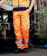 YOKO Cargo Trousers HIGH VISIBILITY