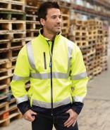 YOKO Unisex Softshell Jacket HI-VIS